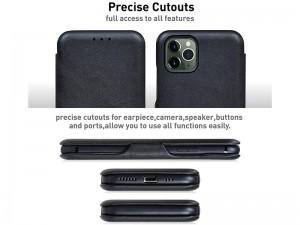 کیف چرمی Puloka Multi-Function مناسب برای گوشی موبایل آیفون 11 پرو مکس