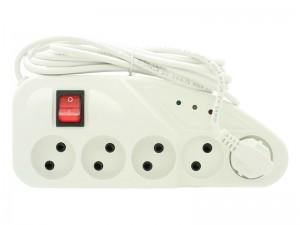 محافظ ولتاژ و چندراهی برق تکسان مدل TS-110