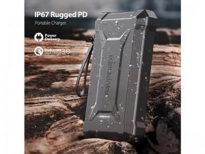پاور بانک 10050 میلی آمپر راو پاور مدل RP-PB096 Rugged Series