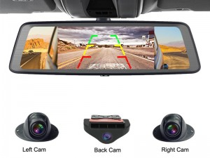 آینه ماشین دوربین دار راک مدل A2 Dash Cam With Rear View Mirror