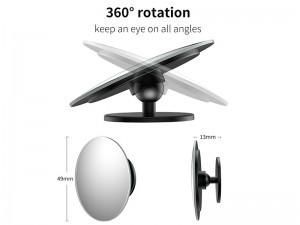 آینه نقطه کور خودرو بیسوس مدل Full Vision Blind Spot Mirror (پک 2 عددی)