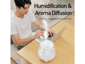 دستگاه بخور سرد بیسوس مدل Surge 2.4L Desktop Humidifier