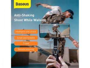 گیمبال و مونوپاد بلوتوثی سه پایه دار بیسوس مدل Lovely Folding Stand Selfie Stabilizer