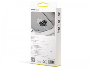 گیره نگهدارنده عینک و لوازم شخصی داخل خودرو بیسوس مدل Platinum Vehicle Eyewear Clip Paste type