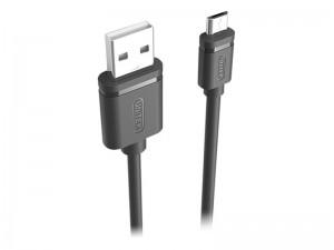 کابل شارژ و انتقال داده USB به MicroUSB یونیتک به طول 0.5 متر