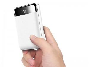 پاور بانک 10000 میلی آمپر راک اسپیس مدل RMP0399 P66 Mini Digital Display