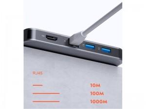 هاب تایپ سی 9 پورت راک مدل RCB0742 TR02