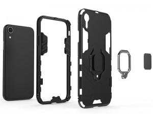 کاور حلقه انگشتی مدل بتمن مناسب برای گوشی موبایل اپل آیفون XR