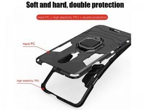 کاور حلقه انگشتی مدل بتمن مناسب برای گوشی موبایل شیائومی Redmi Note 8T