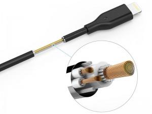 کابل پاور بانکی لایتنینگ انکر مدل A8114 PowerLine به طول 0.3 متر