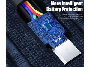 کابل فست شارژ تایپ سی راک اسپیس مدل RCB0781 S5