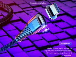 کابل مگنتی فست شارژ سه سر راک مدل RCB0741 G11 5A