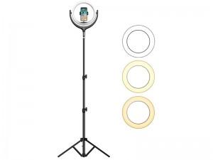 رینگ لایت عکاسی توتو مدل F-539B مناسب برای گوشی موبایل