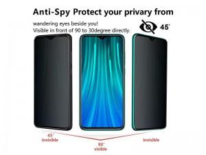 محافظ صفحه نمايش Privacy مناسب برای گوشی موبايل شیائومی Redmi Note 9S/Note 9 Pro/Note 9 Pro Max