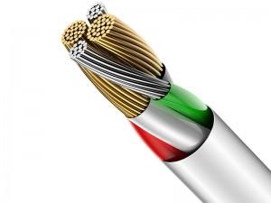 کابل لایتنینگ نمایشگردار بیسوس مدل Big Eye Digital Data Cable