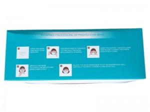 بسته 50 عددی ماسک طبی استریل شده مدل Face Mask BS-Y003 (بهمراه 5 عدد گیره نگهدارنده بند ماسک بعنوان هدیه)