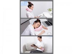 بالش دور گردنی مموری فوم بیسوس مدل Thermal Series Memory Foam U-Shaped Neck Pillow