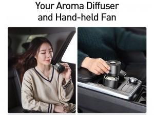 دستگاه تصفیه هوای خودرو بیسوس مدل Breeze Fan Air
