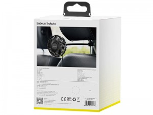 پنکه داخل خودرو بیسوس مدل Departure Vehicle Fan (Seat Type)