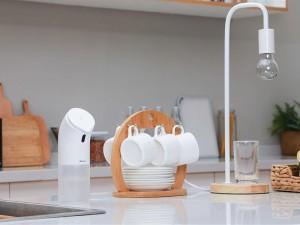 پمپ فوم ساز مایع دستشویی بیسوس مدل Minipeng Hand Washing Machine بهمراه فوم مایع