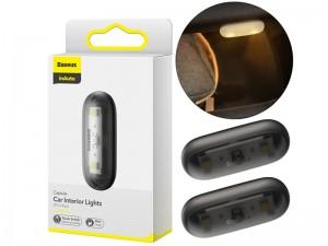 لامپ داخل خودرو بیسوس مدل Capsule Car Interior Lights (بسته 2 عددی)