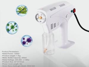 دستگاه ضد عفونی کننده محیط مدل Blu-Ray Anion Nano-Spray Gun