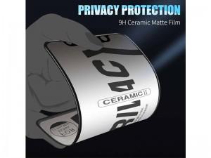محافظ صفحه نمایش سرامیکی پرایوسی مناسب برای گوشی موبايل سامسونگ A10/A10s