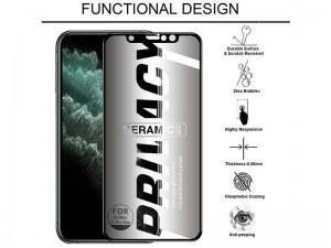 محافظ صفحه نمایش سرامیکی پرایوسی مناسب برای گوشی موبايل سامسونگ A31