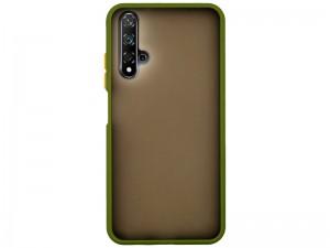 کاور پشت مات دور رنگی مناسب برای گوشی موبایل هوآوی Nova 5T/Honor 20