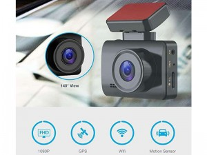 دوربین فیلم برداری هوشمند خودرو پاورولوژی مدل Dash Camera Pro