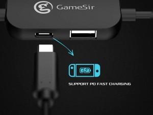 کابل تبدیل Type-C به HDMI گیم سیر مدل GTV120 مناسب برای کنسول بازی نینتندو سوئیچ