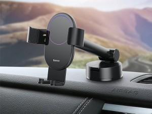 پایه نگهدارنده گوشی موبایل بیسوس مدل Simplism Gravity Car Mount Holder