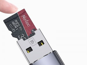 رم ریدر OTG آیفونی توتو مدل FGCR-006 External TF Flash Card