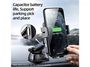 پایه نگهدارنده و شارژ وایرلس گوشی موبایل جویروم مدل JR-ZS219