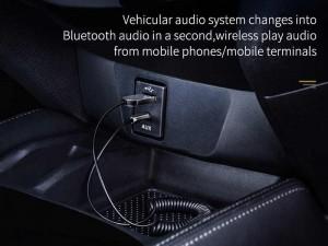 گیرنده صوتی بلوتوثی بیسوس مدل BA01 Wireless Audio Adapter Cable