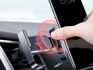 پایه نگهدارنده هوشمند گوشی موبایل بیسوس مدل Mini Electric Car Phone Holder