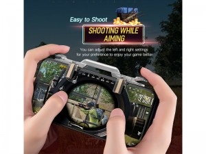 دسته بازی PUBG راک مدل  RPH0871 Shooting Game Controller