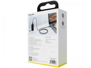 شارژر دیواری فست شارژ بیسوس مدل GaN Mini Quick Charger 45W بهمراه کابل دو سر تایپ سی