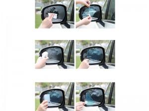 برچسب ضد آب آینه خودرو راک مدل RST1039 Nano Coating Car Waterproof Membrane  (پک دوتایی)