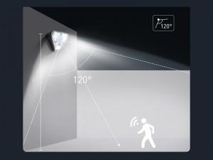 لامپ خورشیدی هوشمند بیسوس مدل Triangle Shape DGNEN-A01