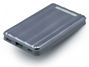 پاور بانک فست شارژ 6000 میلی آمپر پاورولوژی مدل P6PBGY Slim PD Power Bank 18W