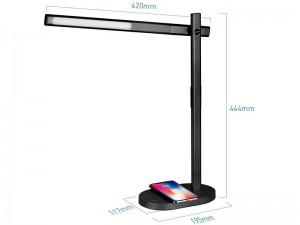 چراغ مطالعه و شارژر وایرلس مومکس مدل QL1A Q.LED Desk Lamp with Wireless Charging Base