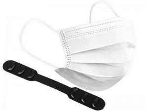 بسته 50 عددی ماسک تنفسی سه لایه نیک (بهمراه 5 عدد گیره نگهدارنده بند ماسک بعنوان هدیه)