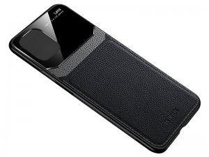 کاور دور دوخت چرم و گلس مدل Delicate Case مناسب برای گوشی موبایل iPhone 12 Pro Max