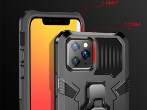 کاور ضد ضربه مدل i-Crystal مناسب برای گوشی موبایل iPhone 12/12 Pro