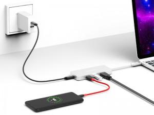 هاب تایپ سی 6 پورت  ترون اسمارت مدل CTHA1 6-in-1 USB Type-C 3.1 Hub
