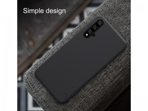 کاور اورجینال نیلکین مدل Super Frosted Shield مناسب برای گوشی موبایل هوآوی Nova 5T/Honor 20