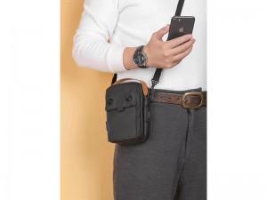 کیف رو دوشی USB دار پوسو مدل G222-B Mobile Bag 6 inch