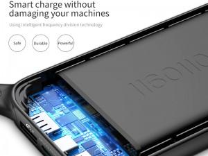 پاور بانک فست شارژ 20000 میلی آمپر بیسوس مدل Powerful QC3.0 Quick Charge BS-P20KQ2B