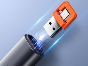 پوینتر و پرزنتر بی سیم بیسوس مدل Orange Dot PPT Wireless Presenter ACFYB-A02
